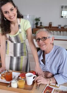 ServingMomBreakfast, caregiving
