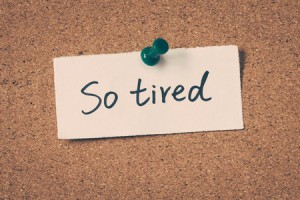 so tired from compassion fatigue