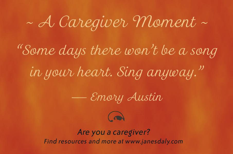strength in caregiving