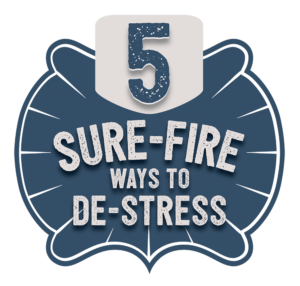 5 tips to de-stress