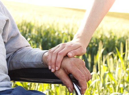 aging loved one, change in the caregiving season