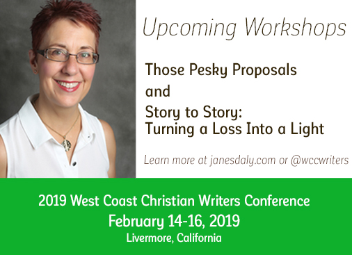 Jane Daly Speaker at West Coast Writers Conference this February