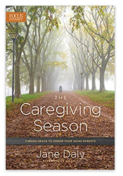 Book cover, Caregiving Season by Jane Daly
